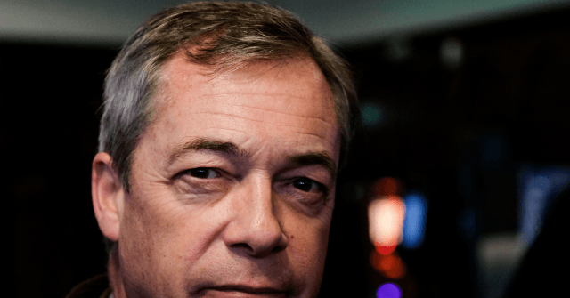Farage announces that the Brexit war is over
