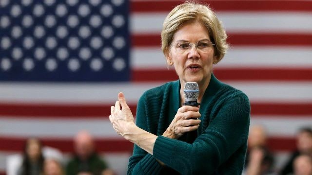 Why is Warren slipping in national polls?