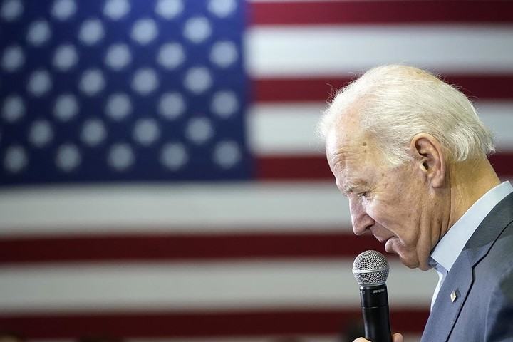 Biden would serve only a single term?