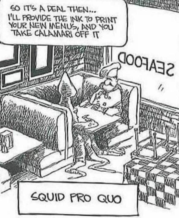 (S)quid pro quo