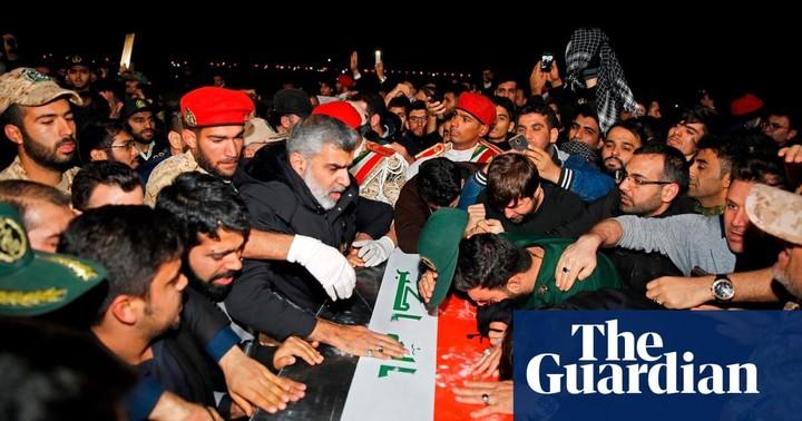 Suleimani's body returns home as Iran vows revenge