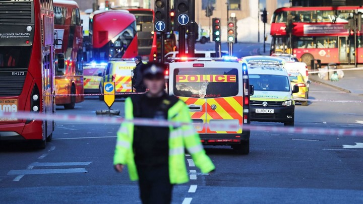 Terror-related knife attack in London
