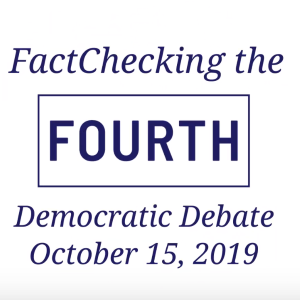 FactChecking October debate claims