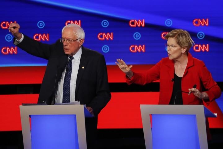 Bernie campaign goes after Warren