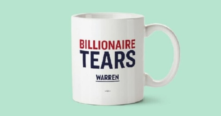 Warren's new mug- for real