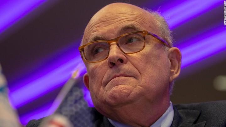 Barr warned Trump about Giuliani