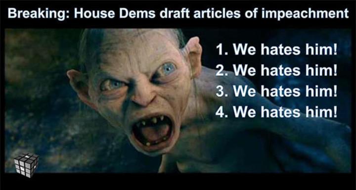 Gollum impeachment