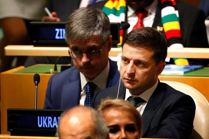 Zelensky: There was no blackmail in Trump's phone call