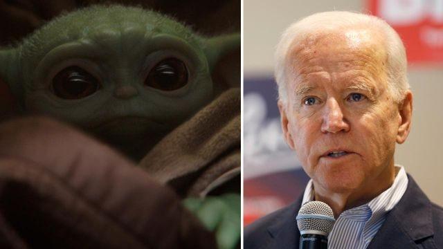Baby Yoda vs Democratic candidates