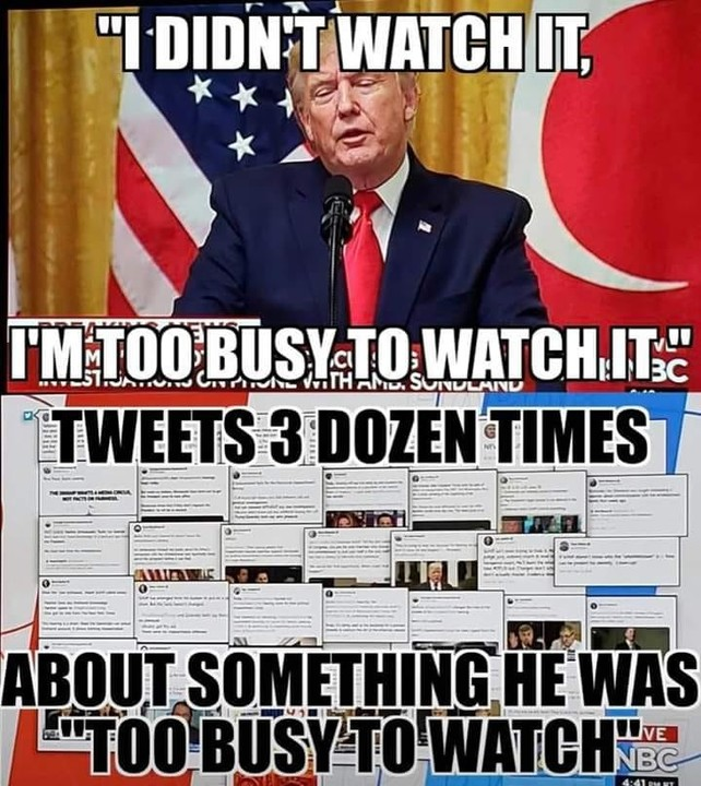 Too busy to watch?