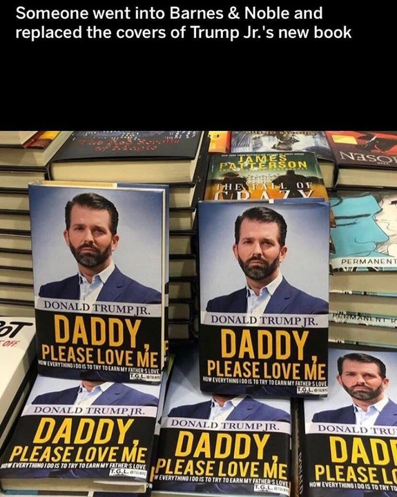 Don Jr's new book