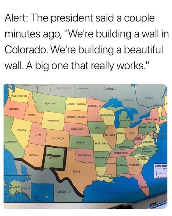 The wall in Colorado
