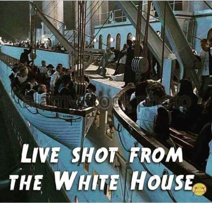 Not enough lifeboats I'm afraid...