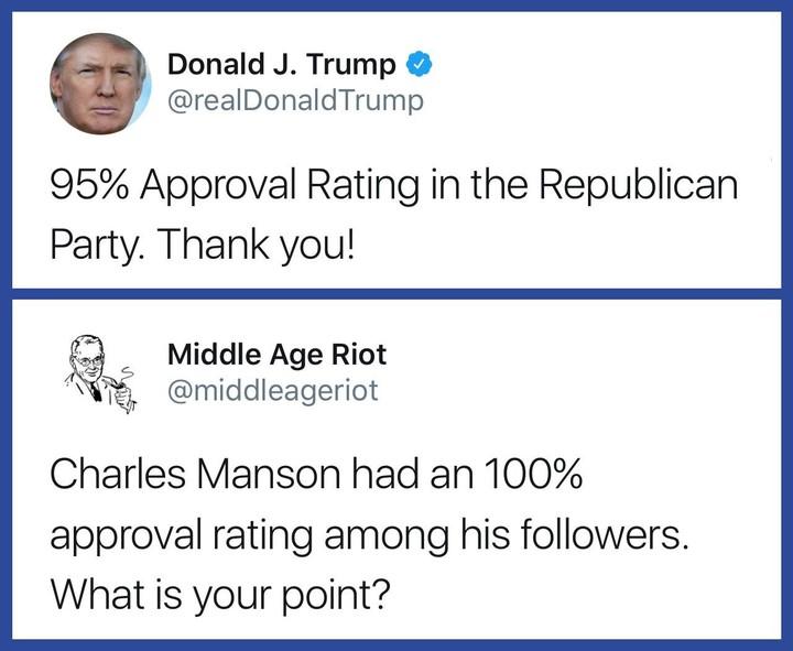 Manson v Trump