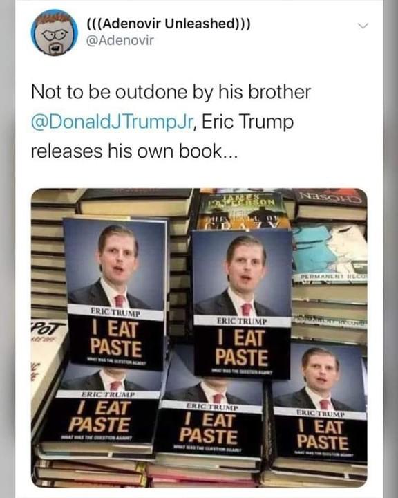 Eric Trump's new book