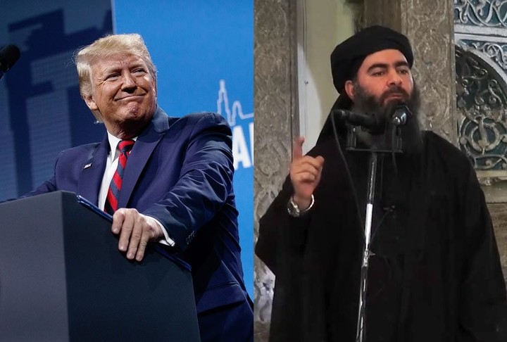 Trump and Baghdadi: Disordered minds think alike