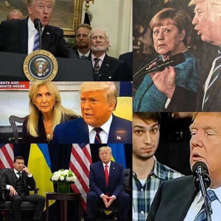 When Trump gives a speech