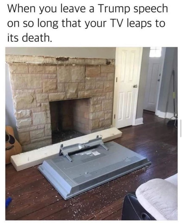 Do not do this to your TV!