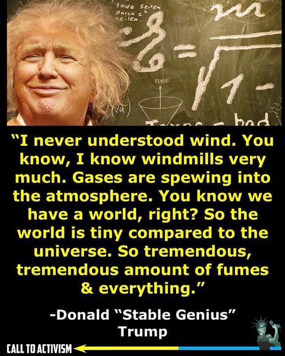 Donald Genius Trump