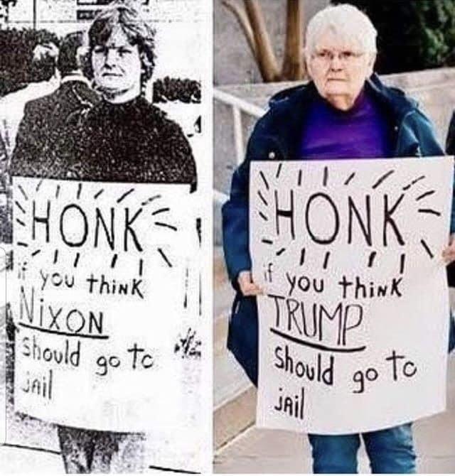 Just honk!