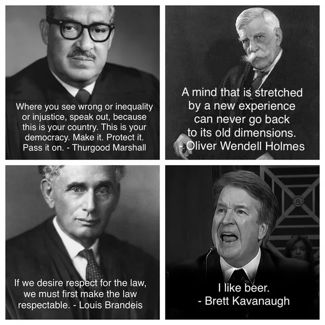 Famous quotes by Supreme Court Judges