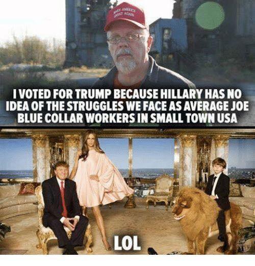 Trump sure has the idea