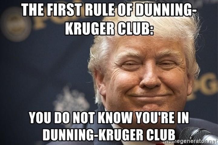 Dunning-Kruger club