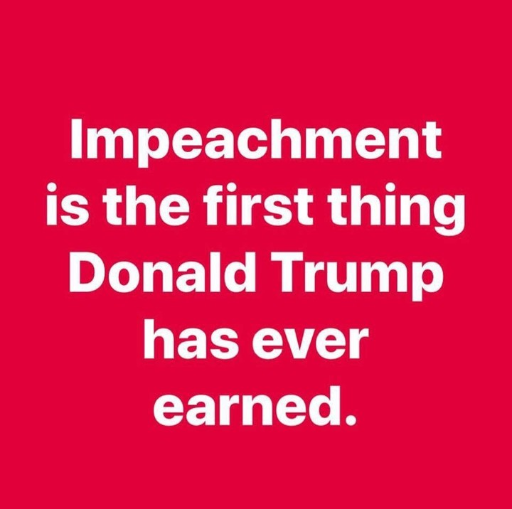 What has Trump earned?