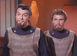 This is what the original Klingons looked like