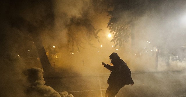 WATCH: Gunshots Ring Out as Armed Rioters Confront Police in Wisconsin