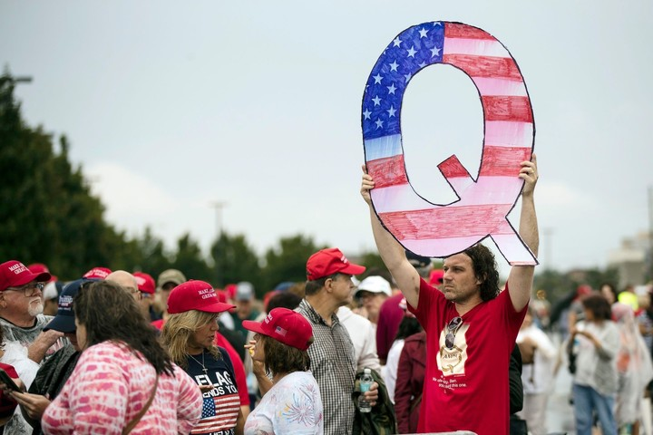 What is new in QAnon conspiracy theory?