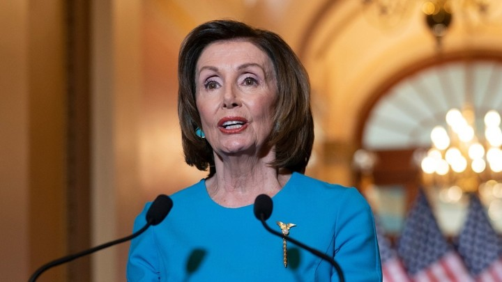 Pelosi urges Trump to 'immediately' use new powers to 'mass produce' medical supplies