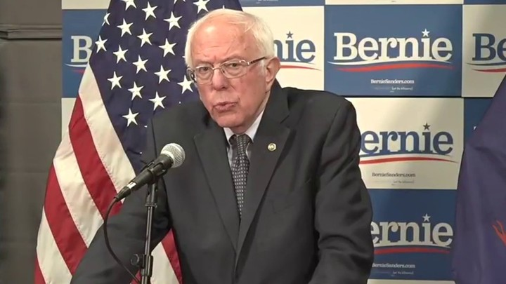 Sanders calls on Trump to declare a national emergency