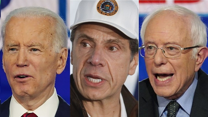 Cuomo as an alternative to Biden and Sanders?