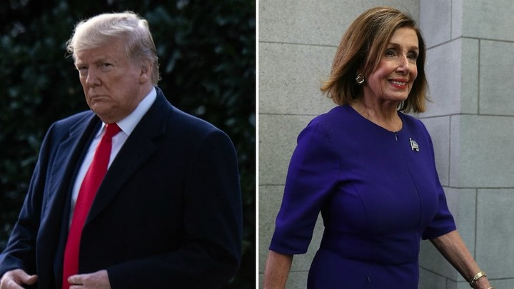Trump attacks Pelosi