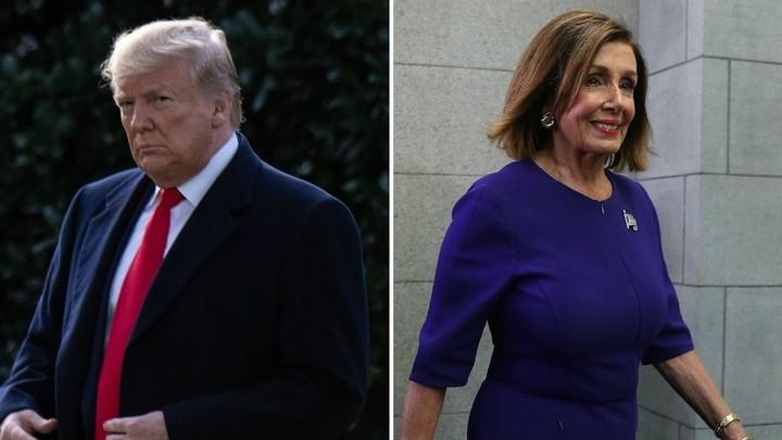 Trump attacks Pelosi