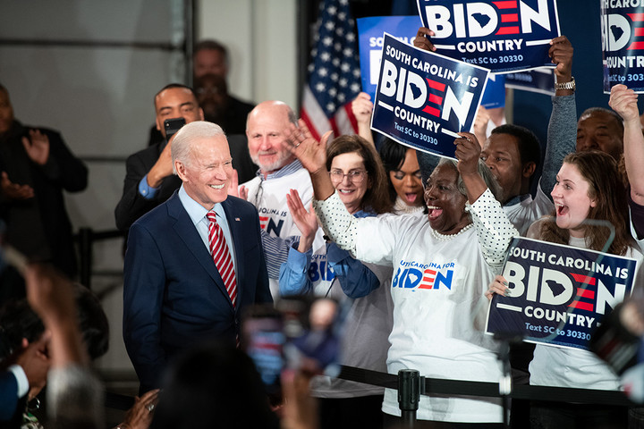 Biden losing his allies