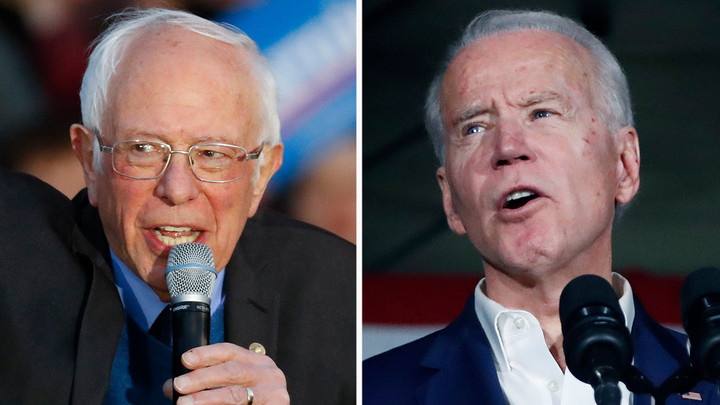 Biden with a big lead over Sanders in Michigan