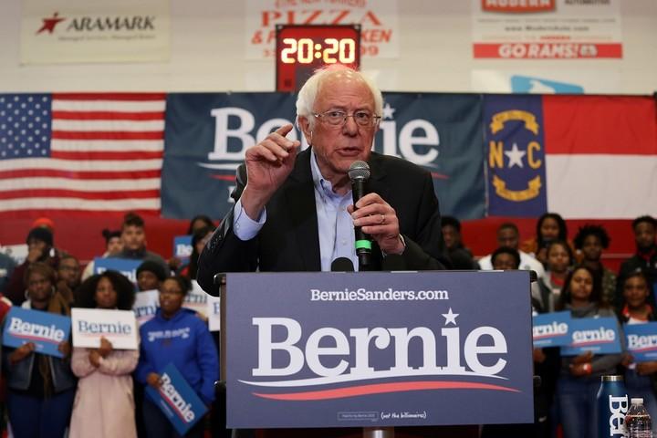 Who will take on Bernie Sanders?