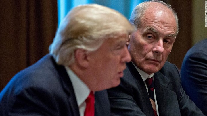 Former White House chief of staff tells friends that Trump 'is the most flawed person' he's ever met