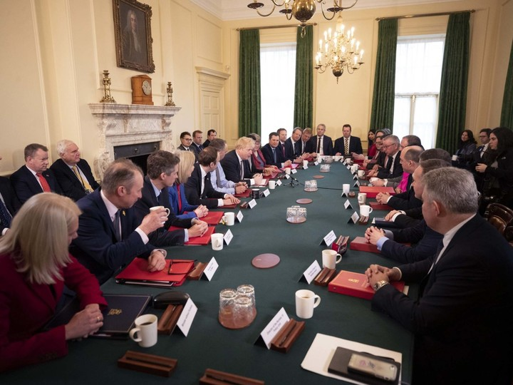UK going for less pale and male cabinet?