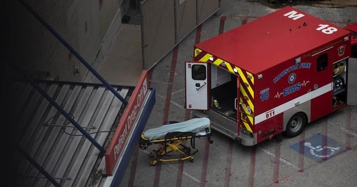Inundated Houston hospitals issue grim advisory to ambulances: Go elsewhere