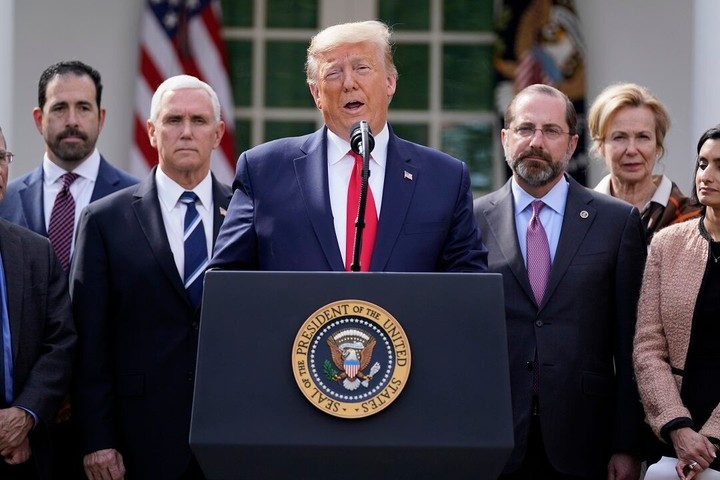 Trump declares Sunday a National Day of Prayer amid coronavirus crisis