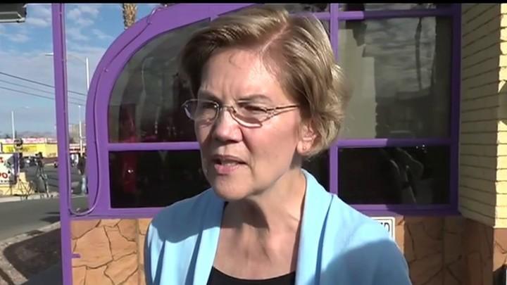 Warren: Bloomberg needs to do a blanket release