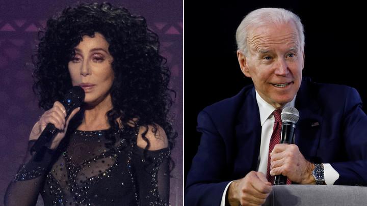 Cher still believes in Biden
