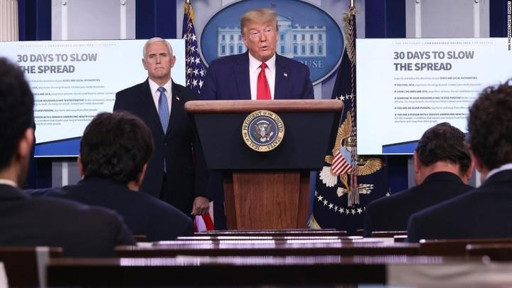 Trump's alarming message