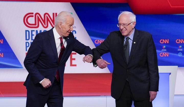 Sanders believes he can still beat Biden