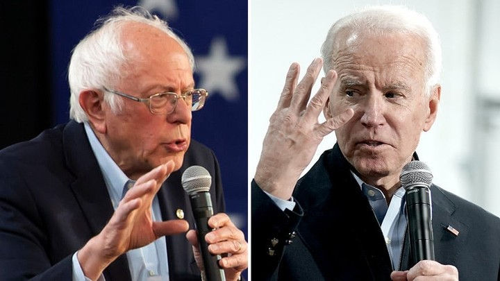 Biden and Sanders contradicting Trump on coronavirus