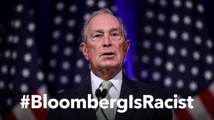 Bloomberg Campaign Raises Visibility By Pumping $5 Million Into #BloombergIsRacist Hashtag