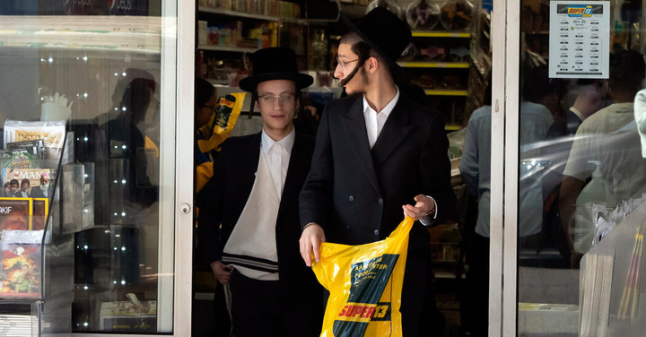 N.Y.C. Threatens Orthodox Jewish Areas on Virus, but Trump's Impact Is Seen